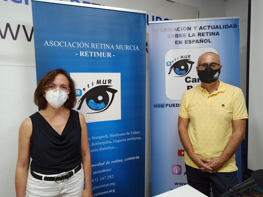 Foto David Sánchez y doctora Inmaculada Selles Navarro